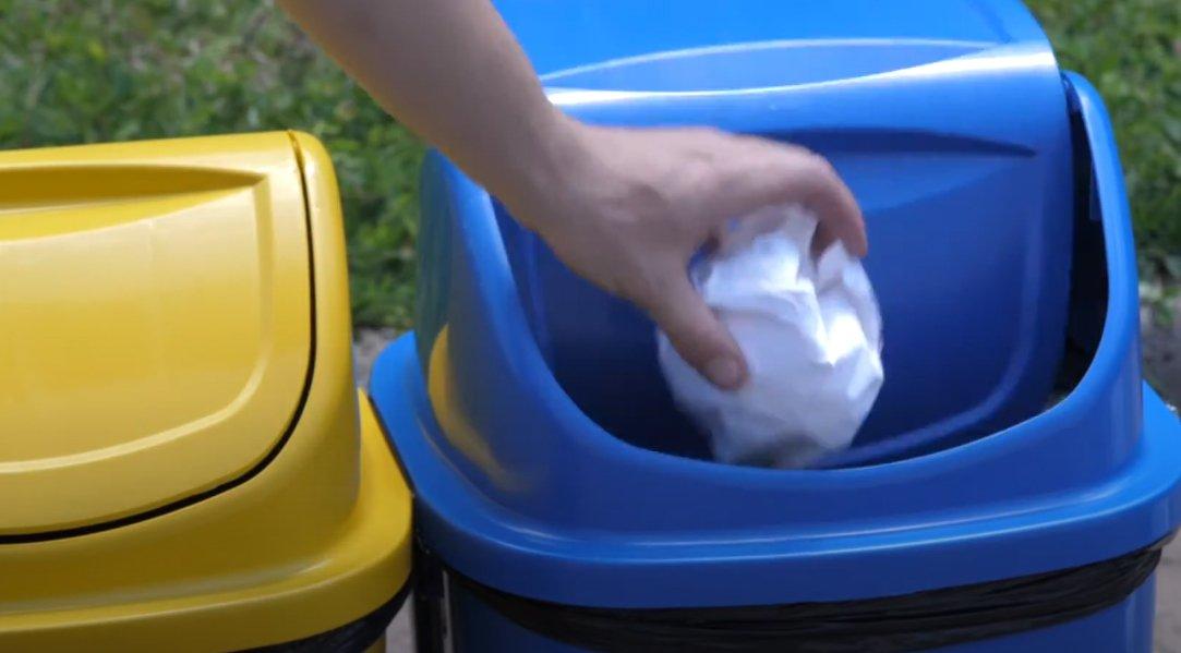 Lixeiras de Plástico Reciclado – Elas são mais comuns do que você imagina